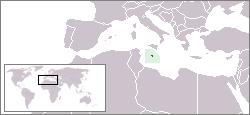 マルタ共和国の位置