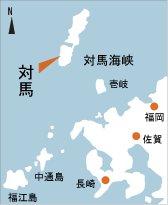 日本の島再発見_長崎県_対馬島_地図