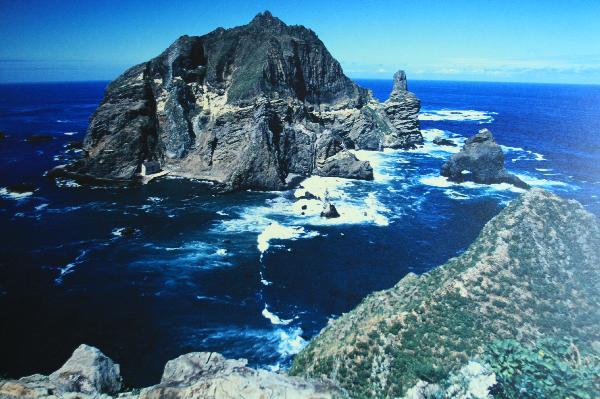 地球の島めぐり_韓国_鬱陵島_独島の写真