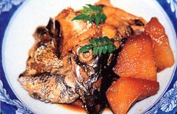 日本の島再発見_鹿児島県_甑島_天然の黒鯛のアラ煮