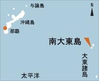 日本の島再発見_沖縄県_大東諸島_南大東島_地図