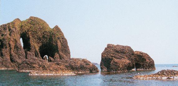 日本の島再発見_山形県_飛島_御積島