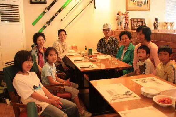 地球の島めぐり_韓国_鬱陵島_鬱陵島でお世話になった人達-恵子さん、南さんご夫妻と孫さん