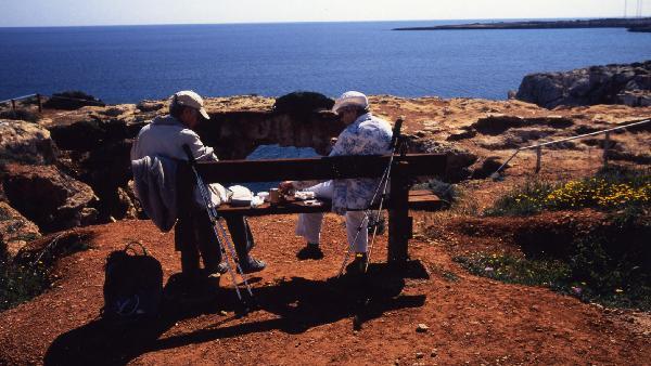 アギア・ナパの海岸