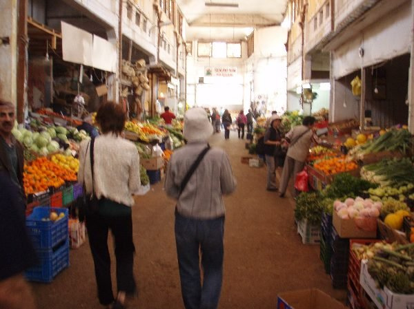 北ニコシアの市場