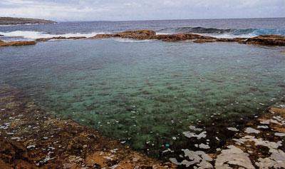 日本の島再発見_沖縄県_大東諸島_南大東島_南大東島の人工プール