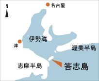 日本の島再発見_三重県_志摩諸島_答志島_地図
