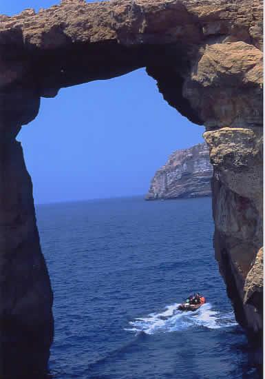 カリプソの洞門