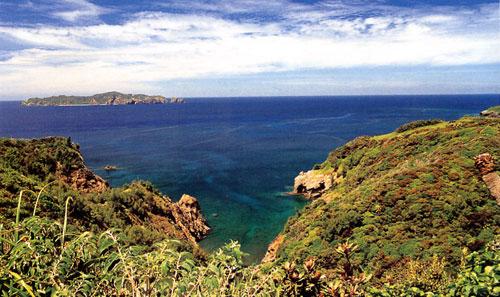 日本の島再発見_東京都_小笠原諸島_母島_母島からの眺望