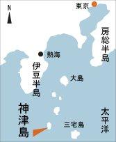 日本の島再発見_東京都_伊豆諸島_神津島_地図