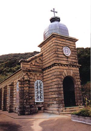 日本の島再発見_長崎県_五島列島_中通島_頭ヶ島教会