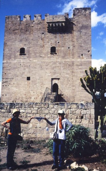 聖ヨハネ騎士団が建設したコロッシ城