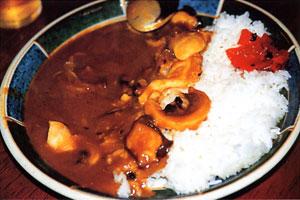 日本の島再発見_北海道_礼文島_お目当ての「タコカレー」