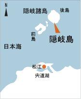 日本の島再発見_島根県_隠岐島_地図