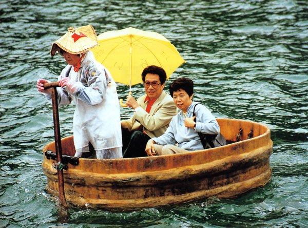 日本の島再発見_新潟県_佐渡島_小木町の「たらい舟」友人の岡部幸昭夫妻