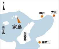 日本の島再発見_兵庫県_家島群島_家島_地図
