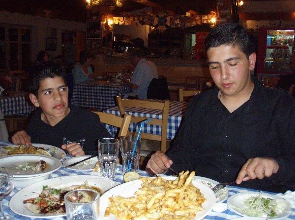 キプロス島での最後の夕食