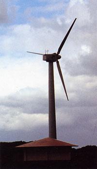 日本の島再発見_沖縄県_粟国島_マハナ岬の風力発電
