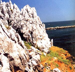 日本の島再発見_三重県_志摩諸島_神島_伊勢港カルスト地形