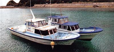 日本の島再発見_沖縄県_慶良間諸島_渡嘉敷島_空港から島へのボート