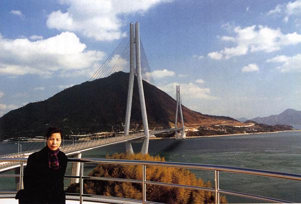 日本の島再発見_愛媛県_越智諸島_大三島_生口島と大三島を結ぶ多々羅大橋