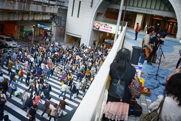 グランフロント大阪・梅田界隈