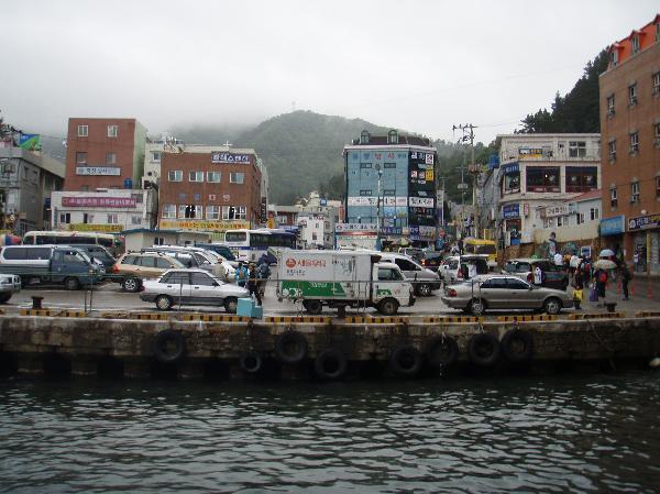 地球の島めぐり_韓国_鬱陵島_トドンの港