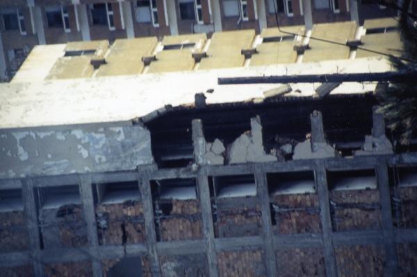 ファマグスタの崩れ落ちているホテル