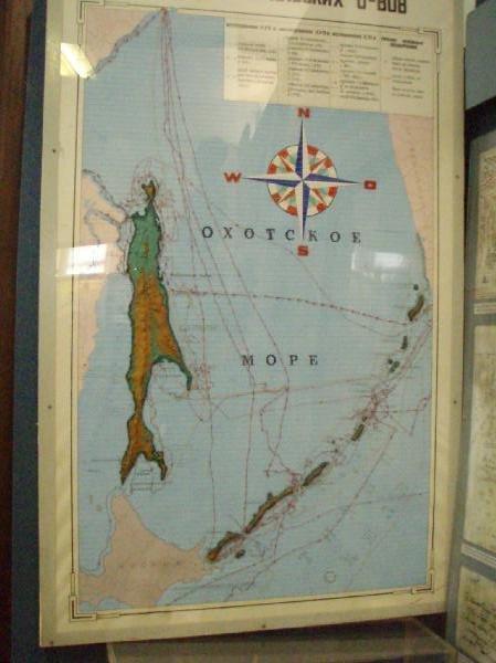 サハリン島(樺太)_地図