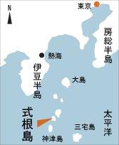日本の島再発見_東京都_伊豆諸島_式根島_地図