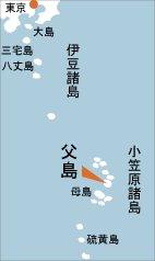 日本の島再発見_東京都_小笠原諸島_父島_地図