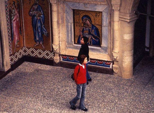 キッコウ修道院のイコン画