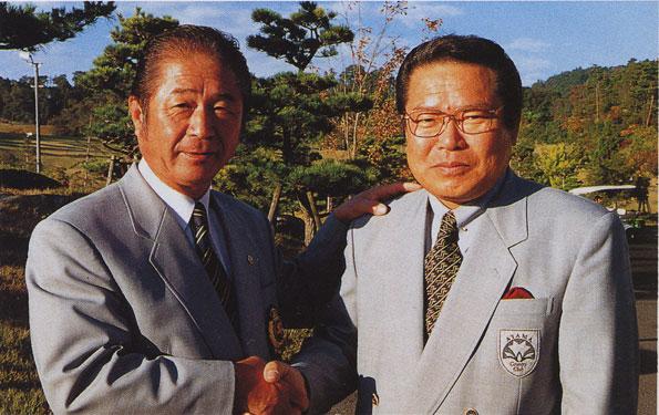 著者と後藤田正人氏