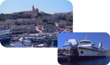 マルタ島~ゴゾ島 フェリー港