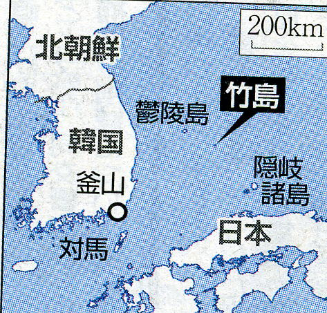 地球の島めぐり_韓国_鬱陵島_地図