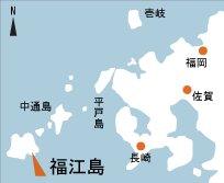日本の島再発見_長崎県_五島列島_福江島_地図