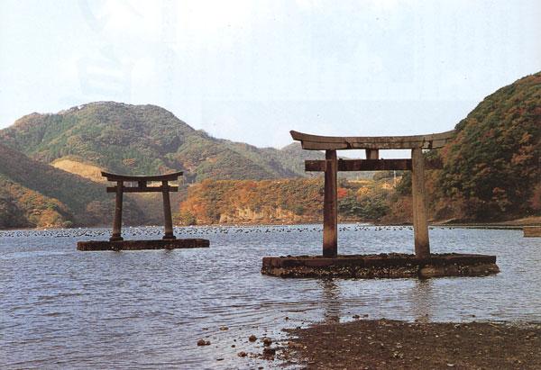 日本の島再発見_長崎県_対馬島_和多都美神社(5つの鳥居)