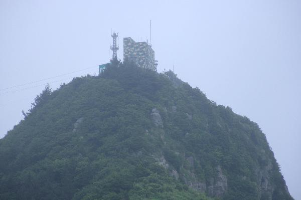 地球の島めぐり_韓国_鬱陵島_ホテルの部屋からの眺望