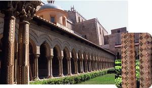 モンアーレ大聖堂/ビザンチン様式のモザイク