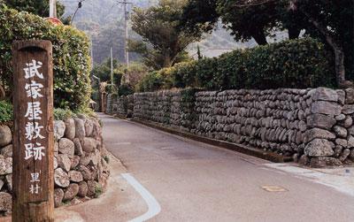 日本の島再発見_鹿児島県_甑島_武家屋敷跡